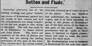 8/29/1902:  Goodbye, M.D. Kaufmann