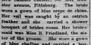 10/28/1903:  Kamins-Friedland