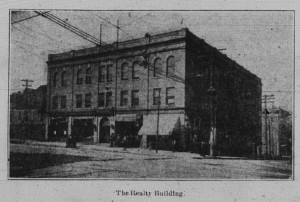4/10/1906: The Realty Building, where Half Bros. was then located.