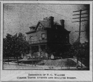 9/26/1906: Do you recognize this house? It still stands in Homestead today. The empty lot next to it where the synagogue now stands!