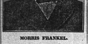2/10:  Frankel ad from the front page of the paper
