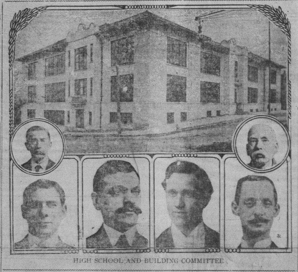 11/28: High School Building Committee.