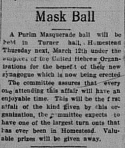 3/10/1914: Mask Ball