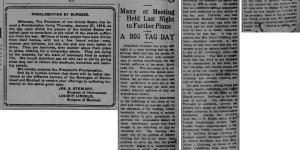 1/25/1916:  Jewish Relief Day Gets a Big Boost at Meeting