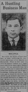 2/11/1916: A Hustling Business Man (click to enlarge)