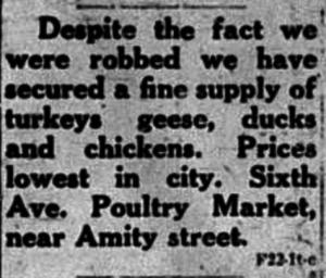 12/22/1920: Eskowitz front page ad