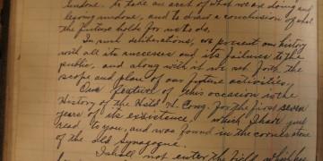 1913 cornerstone-laying speech, p. 1