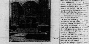 1914-09-08 Daily Msgr dedication