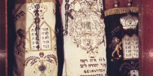 These Torah scrolls were also donated to Beth Shalom.  After the fire the remains were buried in the Homestead Hebrew Cemetery in accordance with Jewish law.