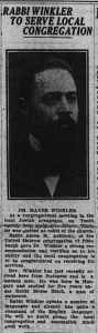 The Daily Messenger, 5/5/1921, p. 1