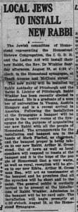 The Messenger, 8/27/1921, p. 1