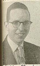 A picture of Rabbi Shapiro from the Jewish Criterion, 11/19/1956
