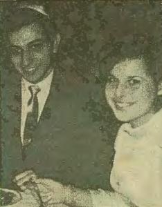 Rabbi Morris Heisler and his fiancée (The Jewish Chronicle, 10/24/1968)
