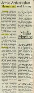 The Jewish Chronicle, 4/15/1993, p. 12