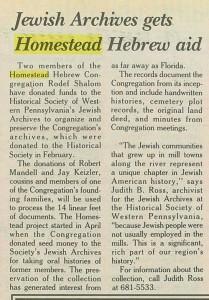 The Jewish Chronicle, 7/15/1993, p. 12
