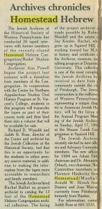 The Jewish Chronicle, 2/3/1994, p. 6