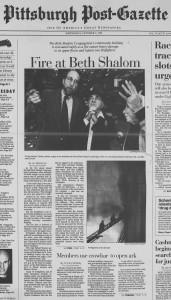 The Pittsburgh Post-Gazette, 10/9/1996, p. 1