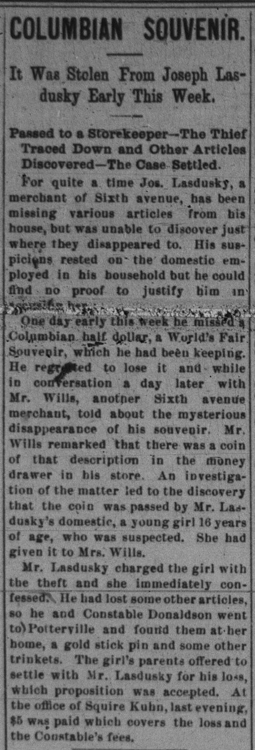 The Homestead News, 1/19/1895