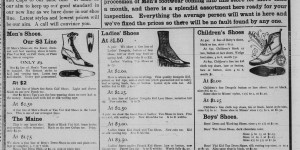 This ad for Skirboll's Shoe House ran 4/27-4/29.