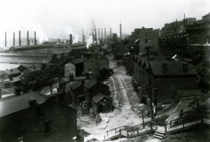 Housing and Mill (source: George Eastman House via Homestead Exhibit Photographs)