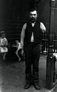 Accident Victim from Homestead Steel Works (source: International Museum of Photography, George Eastman House via the Homestead Exhibit Photographs)