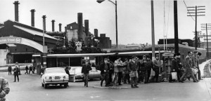 Homestead Works 4 o'clock shift, c. 1973 (source:  The Digs)