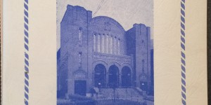 Cover of the 75th anniversary program