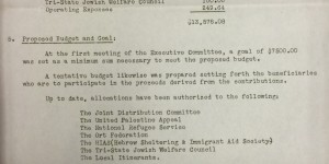 Homestead District Aid Committee, FY 1941, p.1 (Box 10, Folder 2)