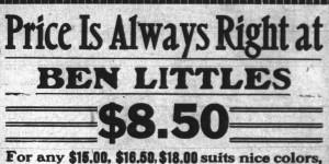 19100812 b little price right