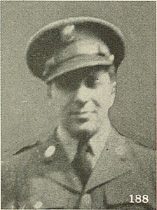 Private Ralph Markowitz, son of Mr. Abe Markowitz, 1402 Louise St., Munhall, Pa. (The Jewish Criterion, 9/24/1943, p. 28)