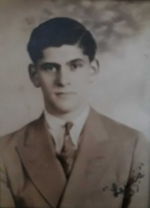 Louis Newman, c. 1937 (possiblly his high school graduation picture)