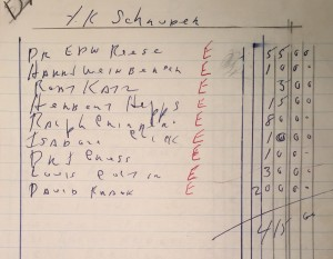 """YK Schnuder,"" 1968 (Box 6, Folder 3)"