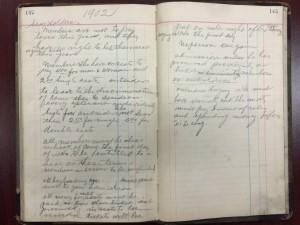 High Holiday ticket rules, 1902. (Box 3, Folder 9)