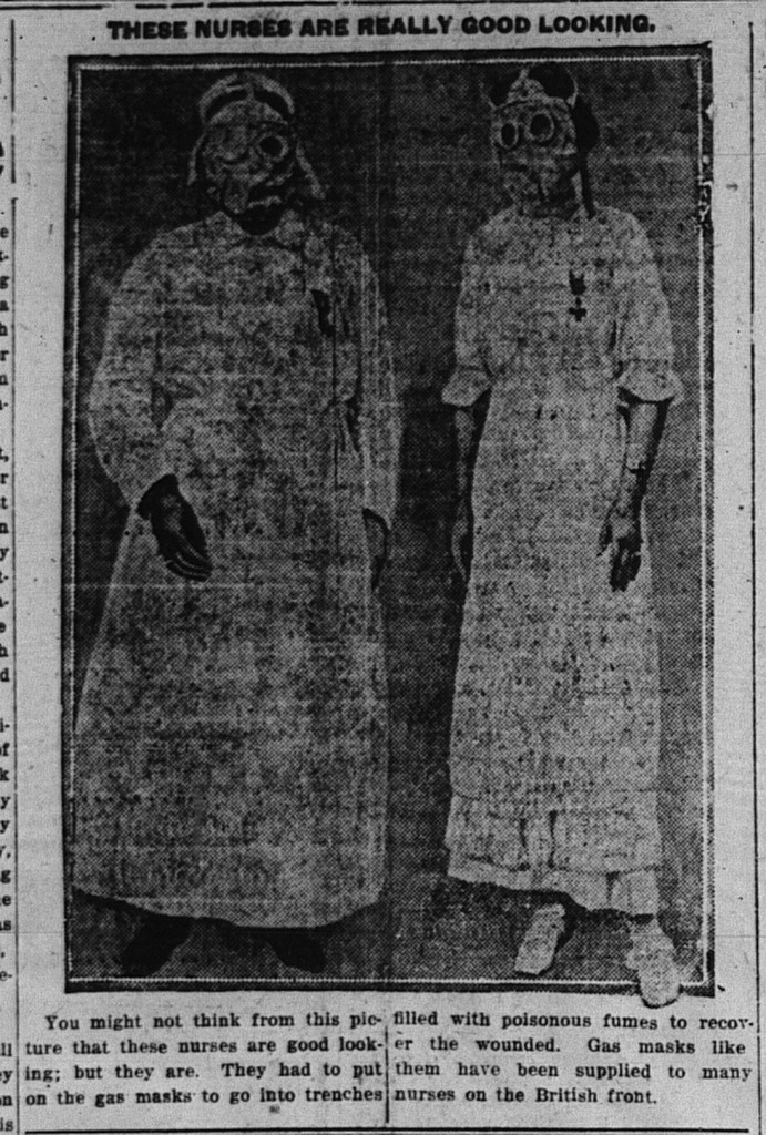 12/18/1916: These Nurses are Really Good Looking