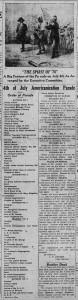 7/1/1918: 4h of July Americanization Parade