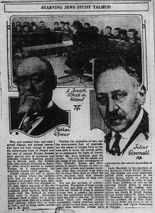 10/6/1919: Starving Jews Study Talmud